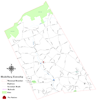 Heidelberg Township Map