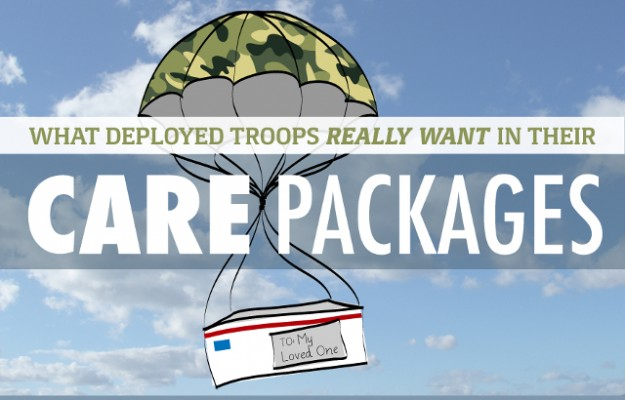 Military Troops Care Packages
