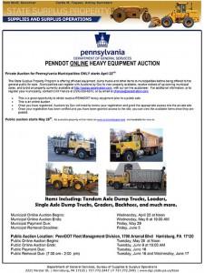 2015 PennDot Online Auction