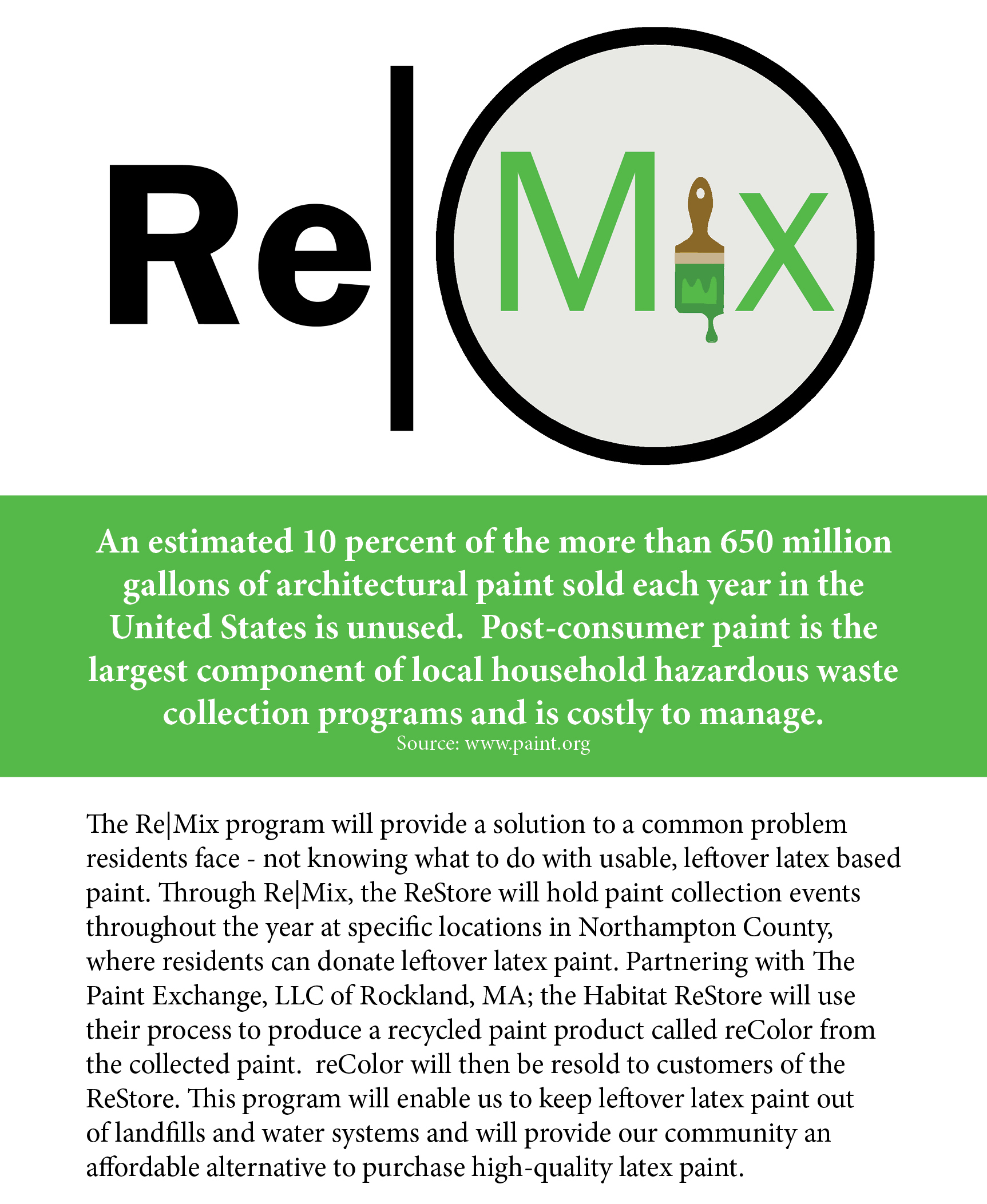 reColor paint recycling