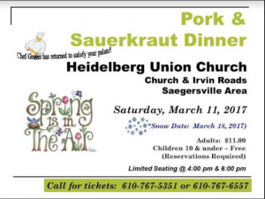 heidelberg church pork & saurkraut